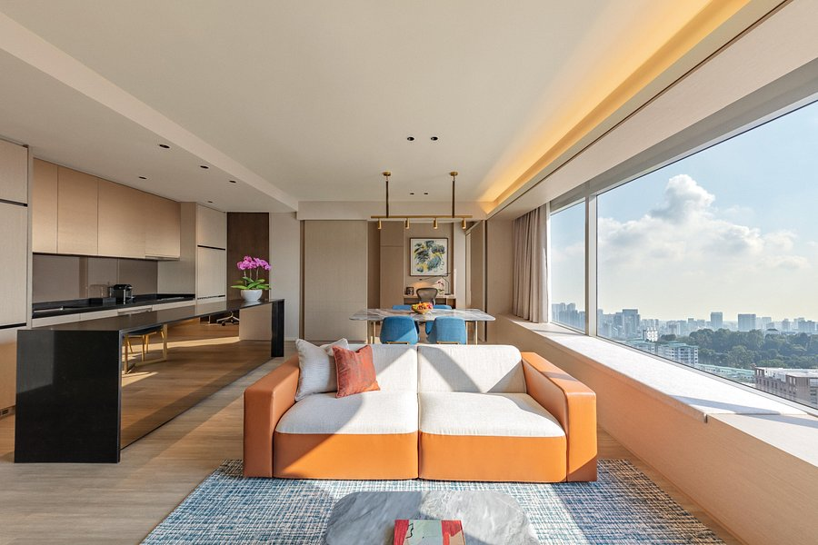 View of Pan Pacific Serviced Suites Orchard Apartment Singapore - Muslim Friendly Travel in Singapore