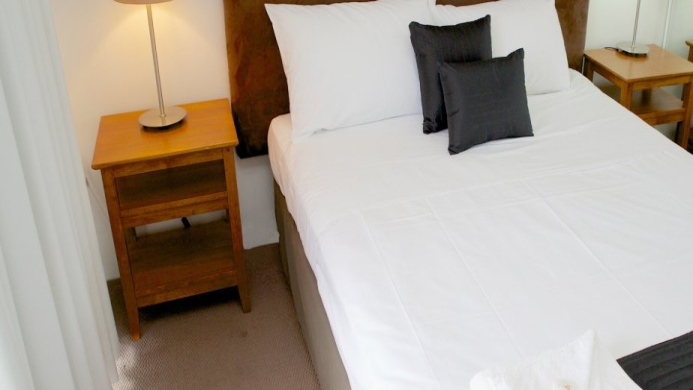 View of Karana Palms Resort Chevron Island - Muslim Friendly Travel in Gold Coast
