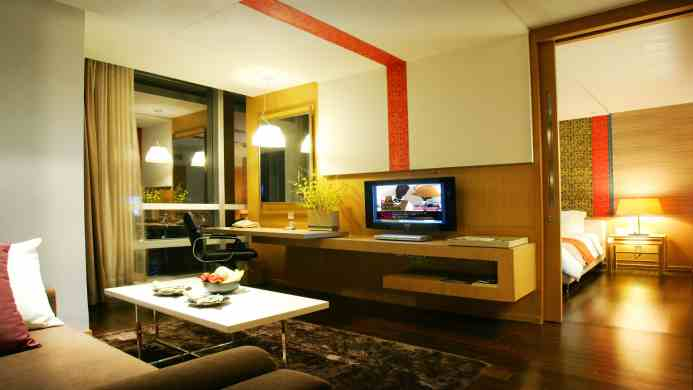 View of Pathumwan Princess Hotel Bangkok - Muslim Friendly Travel in Bangkok