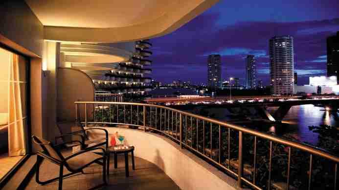 View of Shangri-La Hotel Bangkok - Muslim Friendly Travel in Bangkok