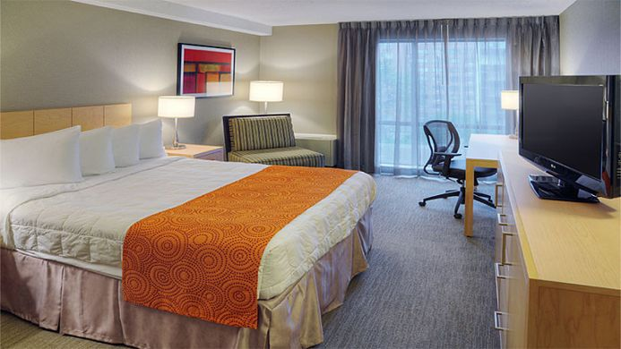 View of Quality Hotel Downtown Montreal - Muslim Friendly Travel in Montreal, QC