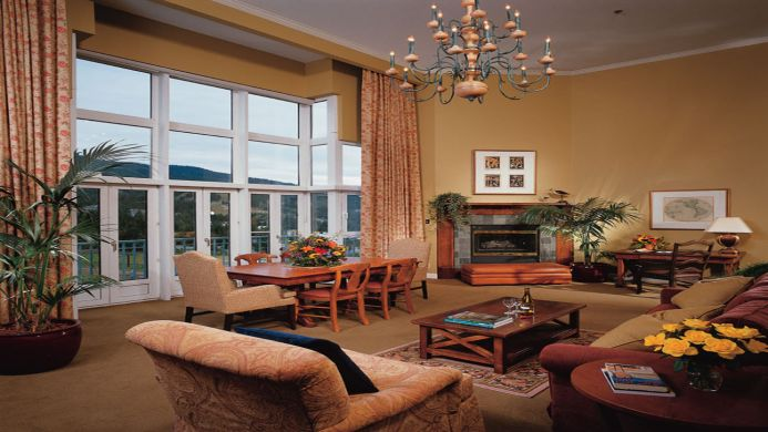 View of The Fairmont Chateau Resort Whistler - Muslim Friendly Travel in Whistler