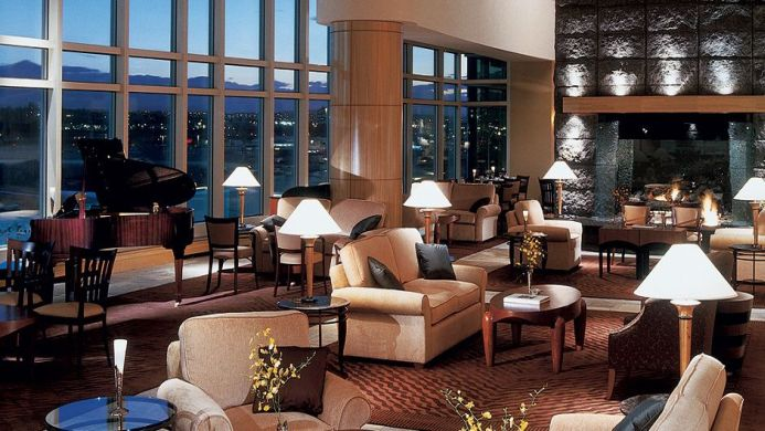 View of The Fairmont Vancouver Airport Hotel - Muslim Friendly Travel in Vancouver