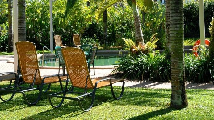 View of Australis Cairns Beach Resort - Muslim Friendly Travel in Cairns