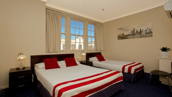 View of Central Station Hotel - Muslim Friendly Travel in Sydney