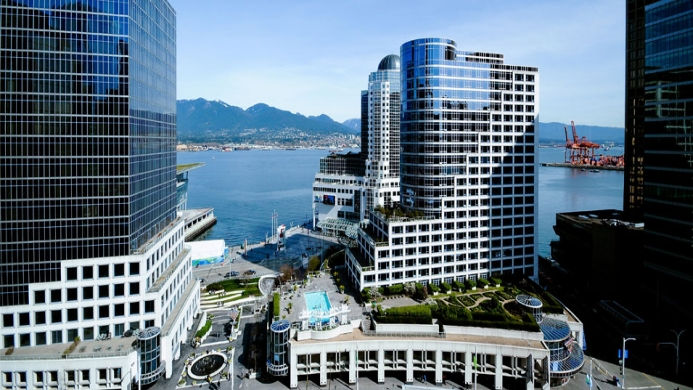 View of The Hotel At Terminal City Club Vancouver - Muslim Friendly Travel in Vancouver