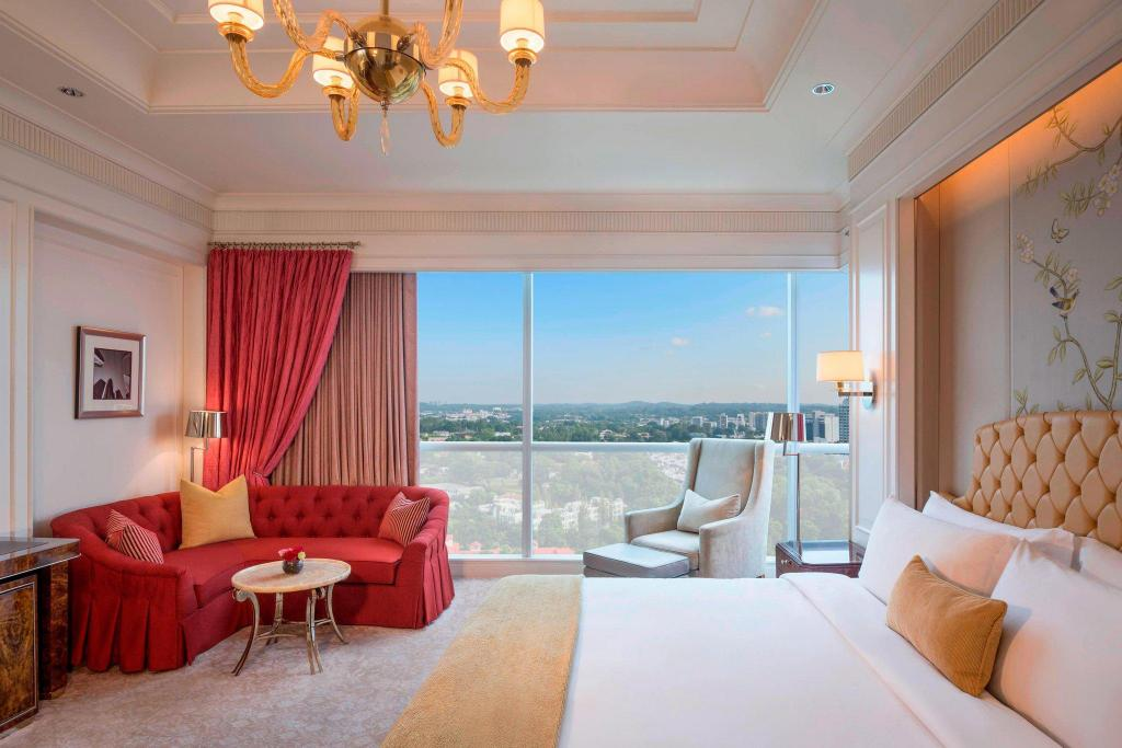 View of The St. Regis Singapore Hotel - Muslim Friendly Travel in Singapore