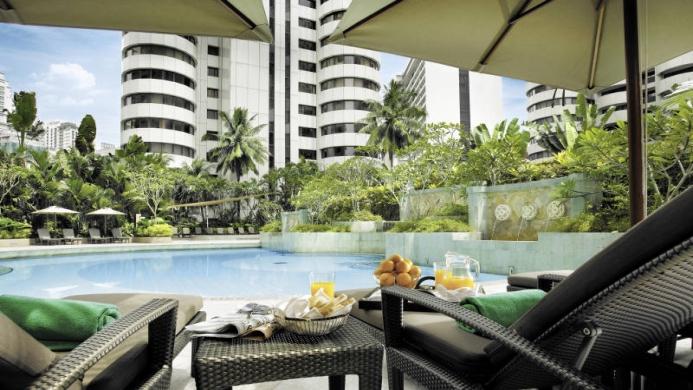 View of Shangri-La Hotel Kuala Lumpur - Muslim Friendly Travel in Kuala Lumpur