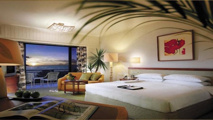 View of Shangri-La's Rasa Sayang Resort & Spa Penang - Muslim Friendly Travel in Penang