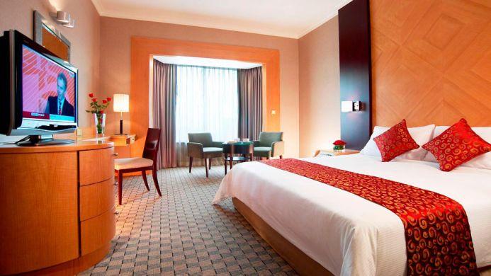 View of Carlton Hotel Singapore - Muslim Friendly Travel in Singapore