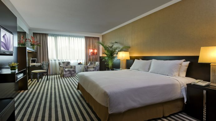 View of Concorde Hotel Singapore - Muslim Friendly Travel in Singapore
