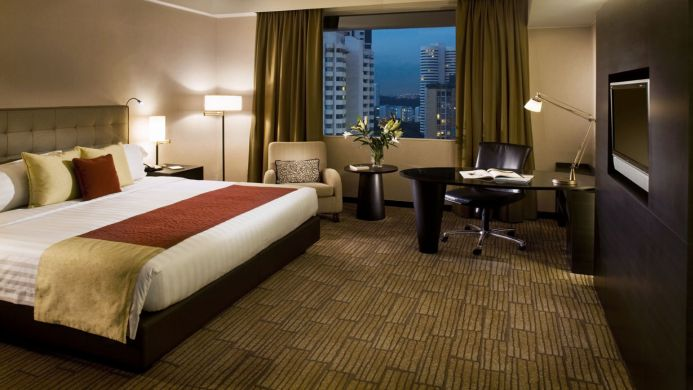View of Pan Pacific Orchard Hotel Singapore - Muslim Friendly Travel in Singapore