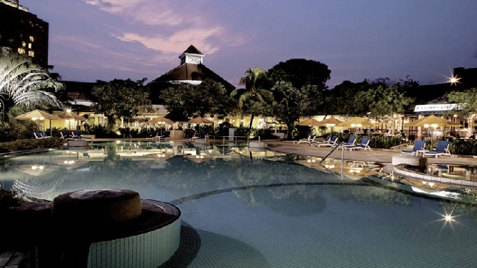 View of Traders Hotel Singapore - Muslim Friendly Travel in Singapore