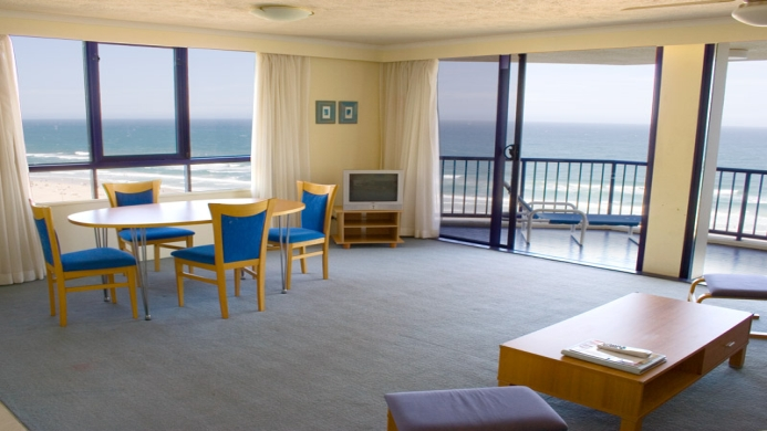 View of Surf Regency Apartments Gold Coast - Muslim Friendly Travel in Gold Coast