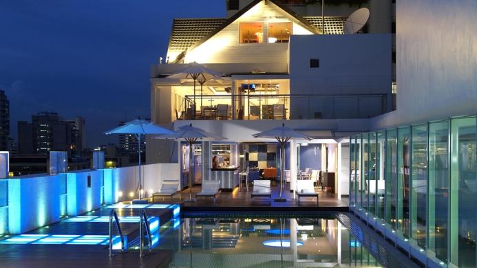 View of Dream Hotel Bangkok - Muslim Friendly Travel in Bangkok