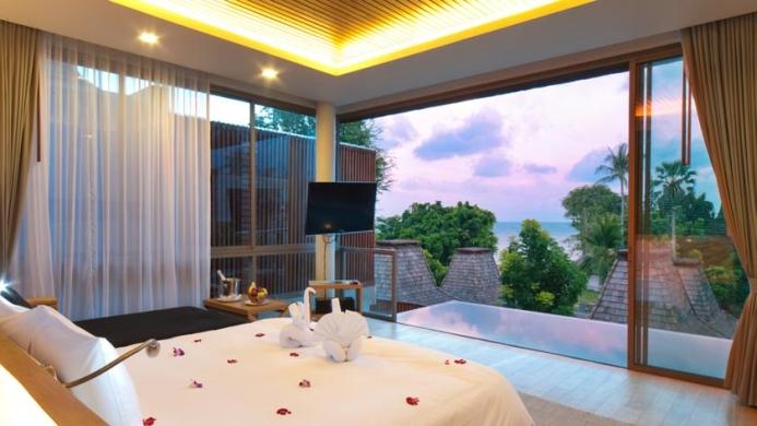 View of Baan Haad Ngam Boutique Resort & Spa Samui - Muslim Friendly Travel in Samui