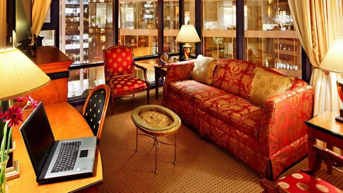 View of Executive Hotel Le Soleil Vancouver - Muslim Friendly Travel in Vancouver