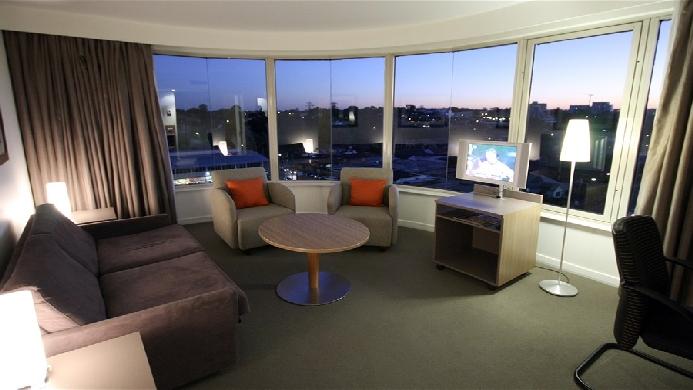 View of Mercure Sydney Parramatta Hotel - Muslim Friendly Travel in Sydney
