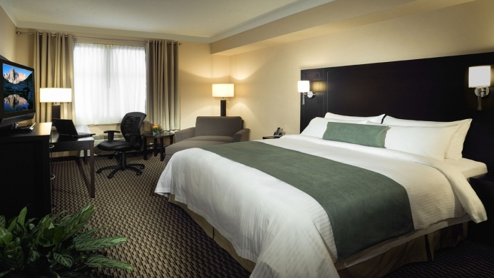 View of Executive Hotel And Conference Centre Burnaby - Muslim Friendly Travel in Vancouver