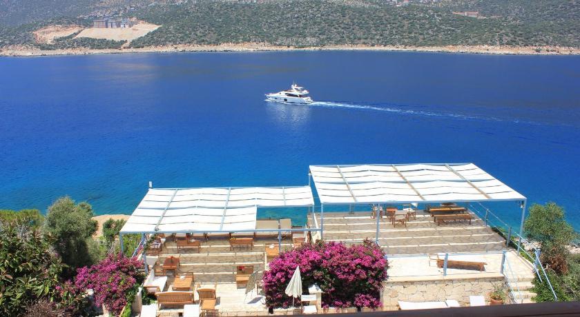 View of Hotel Korsan Ada Kas - Muslim Friendly Travel in Antalya