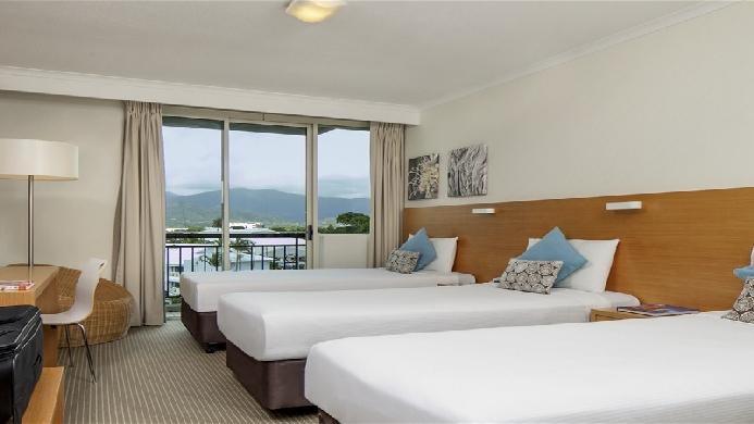 View of Novotel Cairns Oasis Resort - Muslim Friendly Travel in Cairns