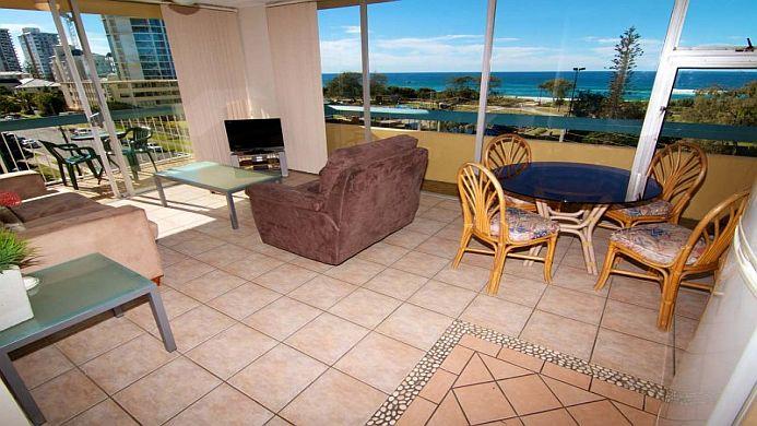 View of Hi Ho Beach Apartments Gold Coast - Muslim Friendly Travel in Gold Coast