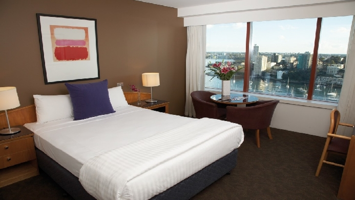 View of Vibe Hotel North Sydney - Muslim Friendly Travel in Sydney