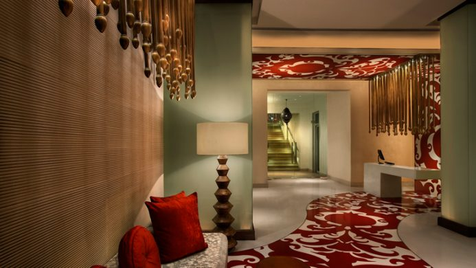 View of ITC Mughal Agra Hotel - Muslim Friendly Travel in Agra