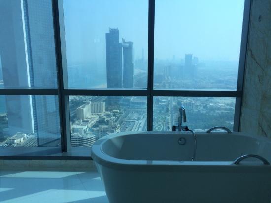 View of Conrad Abu Dhabi Etihad Towers - Muslim Friendly Travel in Abu Dhabi
