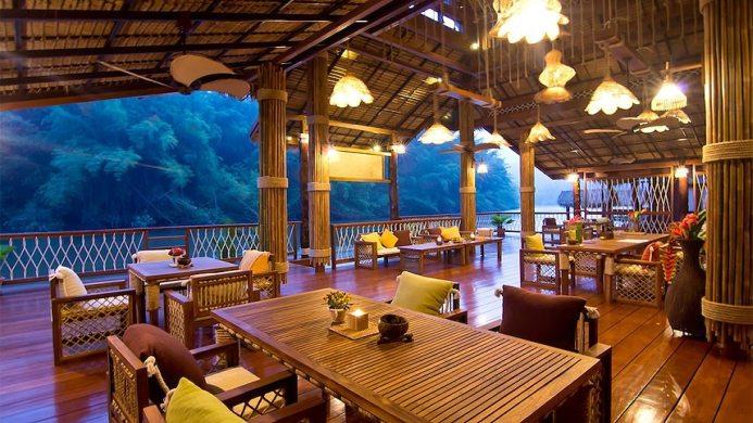 View of The Floathouse River Kwai Resort - Muslim Friendly Travel in Kanchanaburi