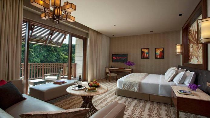 View of Resorts World Sentosa Beach Villas Singapore - Muslim Friendly Travel in Singapore