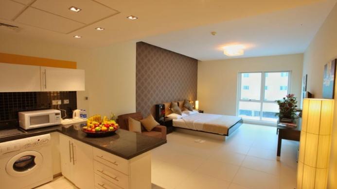 View of Royal Ascot Hotel - Muslim Friendly Travel in Dubai