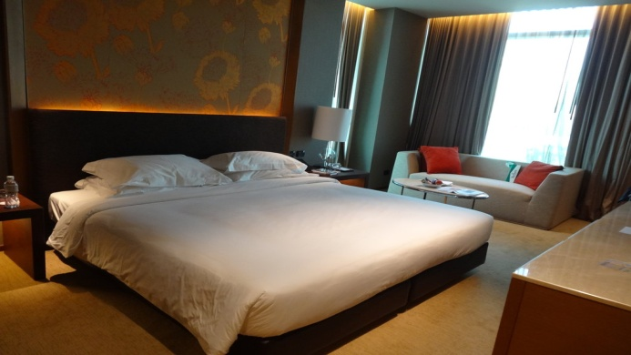 View of Eastin Grand Hotel Sathorn Bangkok - Muslim Friendly Travel in Bangkok