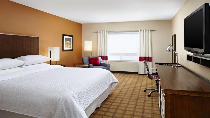 View of Four Points By Sheraton Edmonton Gateway Hotel - Muslim Friendly Travel in Edmonton