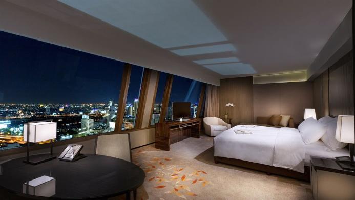 View of The Okura Prestige Bangkok Hotel - Muslim Friendly Travel in Bangkok