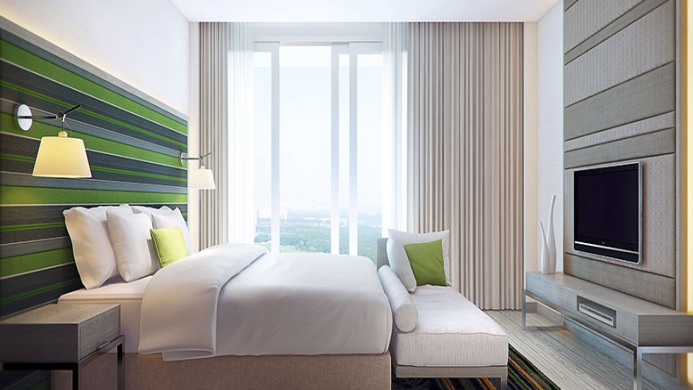 View of Capri By Fraser Singapore Hotel - Muslim Friendly Travel in Singapore