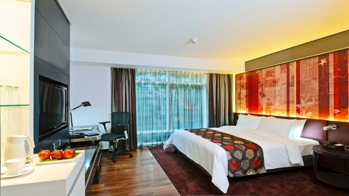 View of The Grand Fourwings Convention Hotel Bangkok - Muslim Friendly Travel in Bangkok
