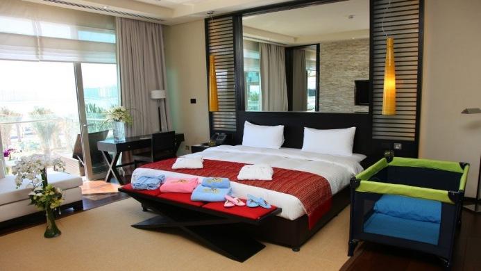 View of Rixos The Palm Dubai Hotel - Muslim Friendly Travel in Dubai