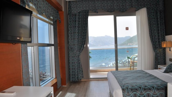 View of Mehtap Family Hotel Marmaris - Muslim Friendly Travel in Marmaris