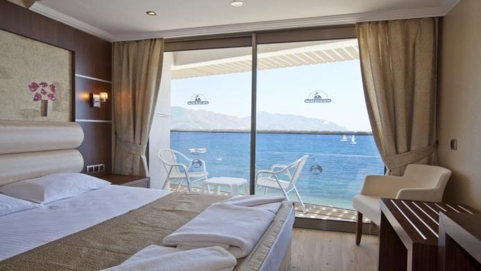 View of Mehtap Beach Hotel Marmaris - Muslim Friendly Travel in Marmaris