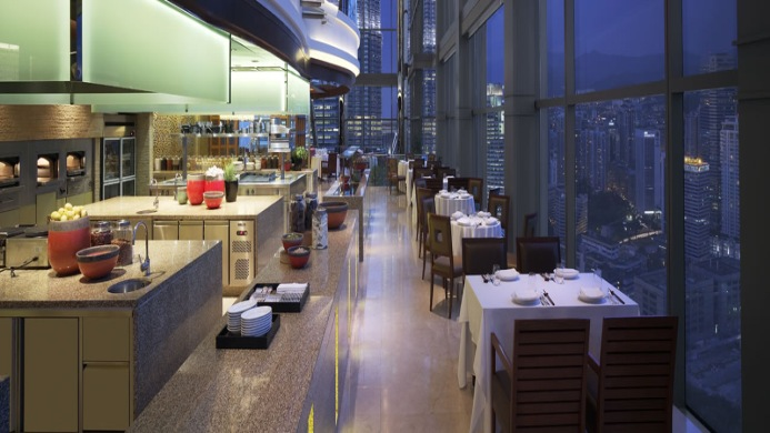 View of Grand Hyatt Hotel Kuala Lumpur - Muslim Friendly Travel in Kuala Lumpur