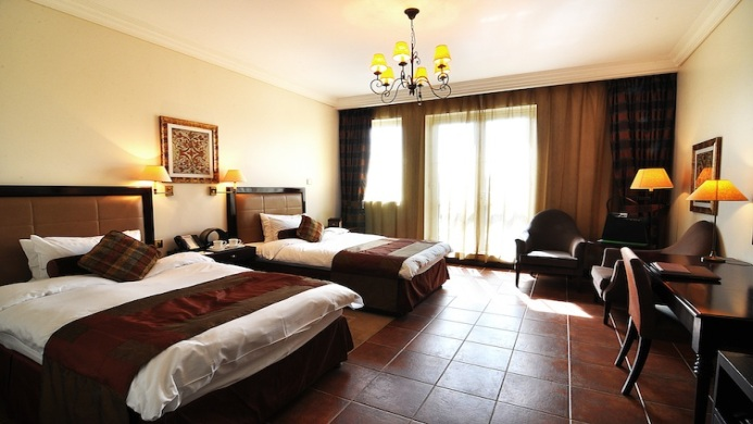 View of Arabian Ranches Golf Club Dubai Hotel - Muslim Friendly Travel in Dubai