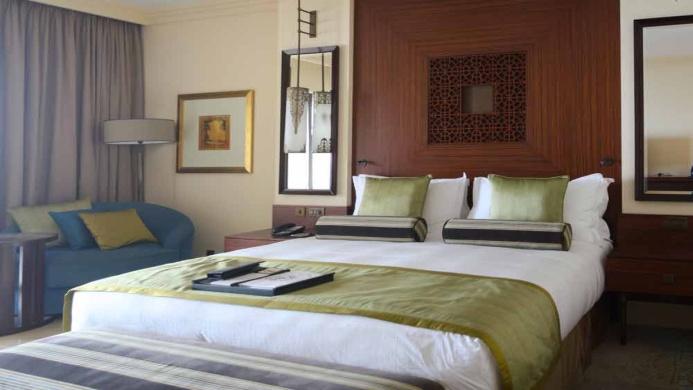 View of Fairmont The Palm Dubai Hotel - Muslim Friendly Travel in Dubai