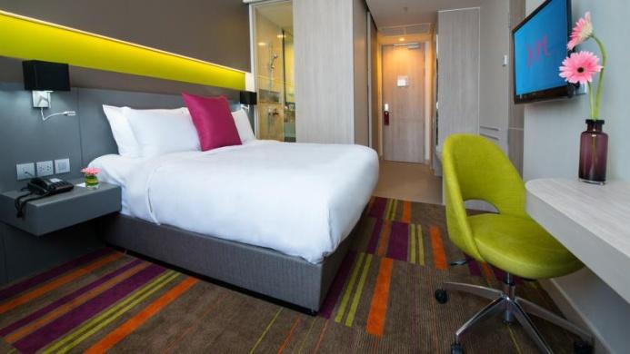 View of Mercure Hotel Bangkok Siam - Muslim Friendly Travel in Bangkok