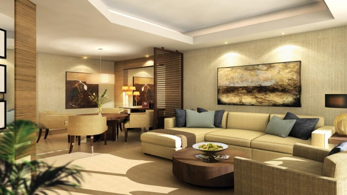 View of JW Marriott Hotel Marquis Dubai - Muslim Friendly Travel in Dubai
