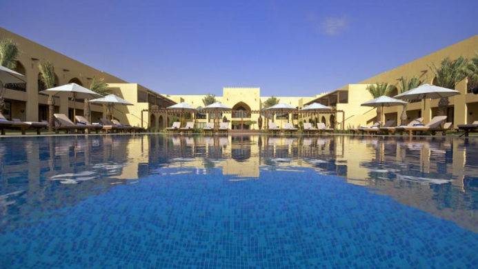 View of Liwa Hotel Abu Dhabi - Muslim Friendly Travel in Abu Dhabi