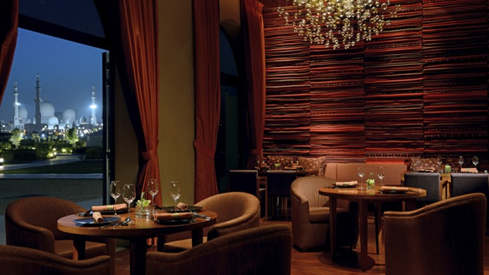View of The Ritz-Carlton Abu Dhabi Grand Canal Hotel - Muslim Friendly Travel in Abu Dhabi
