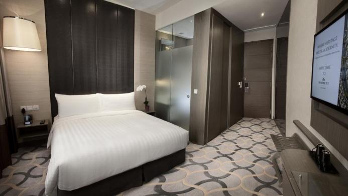 View of Dorsett Singapore Hotel - Muslim Friendly Travel in Singapore