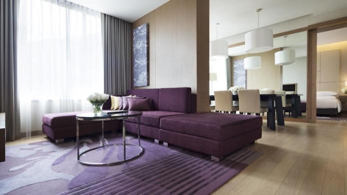 View of Marriott Executive Apartments Bangkok Sukhumvit Thonglor - Muslim Friendly Travel in Bangkok