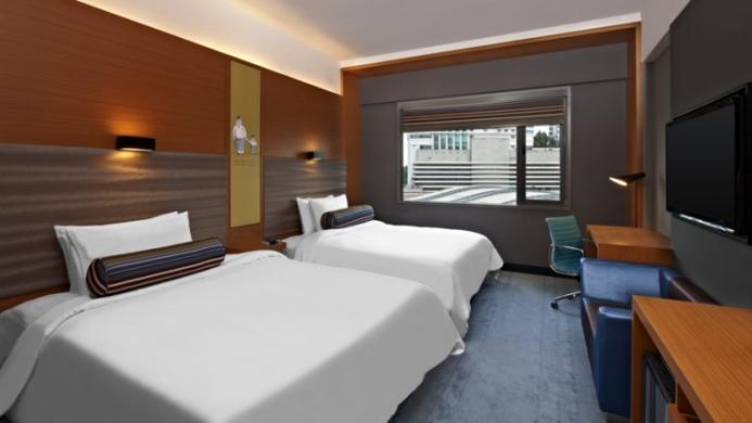 View of Aloft Kuala Lumpur Sentral Hotel - Muslim Friendly Travel in Kuala Lumpur